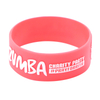 Customized Embossed Printed Silicone Wristband