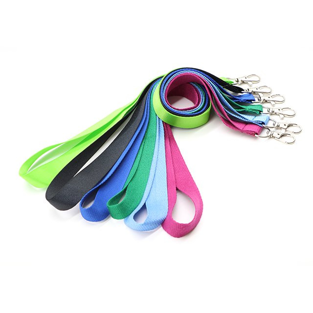 Free Sample Multi Color Lanyards With Id Card Holder