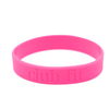 Skyee High Quality Custom Wristbands Debossed promotional items silicone bracelets suppliers