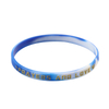 Skyeee Custom Embossed Print Silicone Wristbands Wholesale