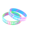 Skyee Factory Price Custom Logo Silicone Wristband Mixing Color Bracelet Silicone Wristband