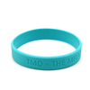 Skyee Free Sample Promotional silicone wristbands silicone bracelets Debossed