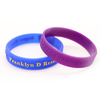 skyee Printed Logo Embossed Logo Silicone Wristband For sale
