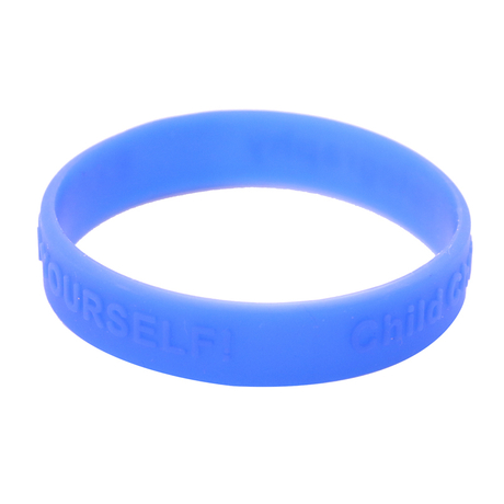 Skyee High quality Personalized Printed silicone Bracelet custom printed embossed Silicone Bracelet