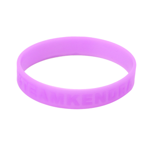 Skyee Cheap Custom Printing Silicon Embossed Wristbands Bracelet