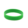 Skyee Custom Your Own Logo Fashion Rubber rubber bracelets Debossed Silicone Wristband