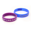 skyee Custom Embossed Printed Silicone Wristband Fashion Silicone Bracelet